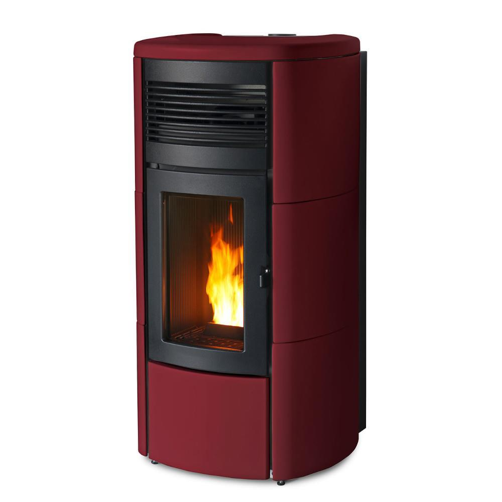 Termostufa a Pellet MCZ Club Hydromatic 24 bordeaux