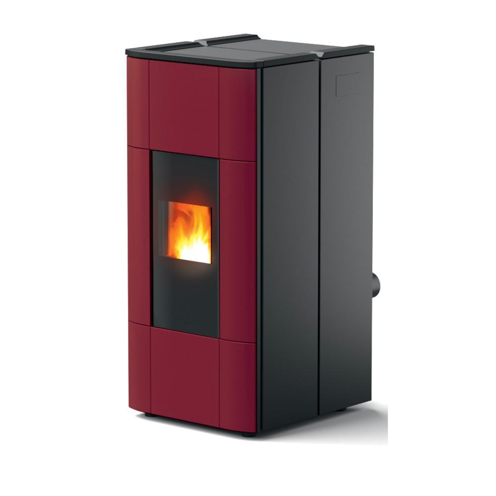 Termostufa a Pellet MCZ Jazz Hydromatic 30 Bordeaux